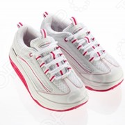 Кроссовки Walkmaxx 2.0. Цвет: белый, розовый фото