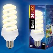 S Спиральные лампы ESL-S12-24/2700/E27 картон фото