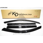Дефлектор окон черный по 3 компл в упаковке Kyoung Dong, кросс_номер P82222P000 фото