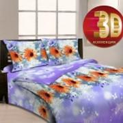 Ткань постельная Бязь 125 гр/м2 220 см Набивная Солнечная соната 3940-2/S TDT фото