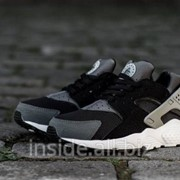 Кроссовки Nike Huarache Grey/Dark фото
