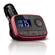 Модулятор FM Energy Sistem Car FM-T Energy f2 Car MP3 Racing Red (FM-T, Card reader, Usb-HOST, Line-in) фото