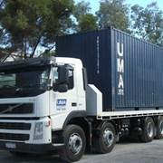 Услуги и аренда контейнеровоза в Минусинске фото