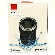 Портативная Bluetooth колонка Wireless X13 (Black) фото