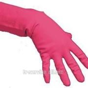 Резиновые перчатки многоцелевые, красные - 10 шт/уп, 5 уп/кор фото