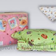 Одеяло детское ХОЛЛОФАЙБЕР гипоалергенное 100*140 фото