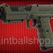 Пистолет пейнтбольный TiPX оливковый фото