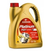 Масло PLATINUM MAX EXPERT V 5W-30, 4L фото
