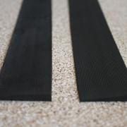 Полиуретановый рубец (косяк) для ремонта обуви 250*40 мм. (Украина), цвет - черный фото