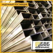 Труба алюминиевая профильная 40х20х2 АД31Т1 прямоугольная фото