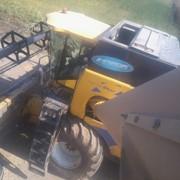 Уборка урожая зерноуборочными комбайнами new holland