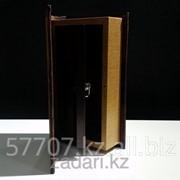 Книга сейф в деревянной обложке Неприкосновенный запас фото