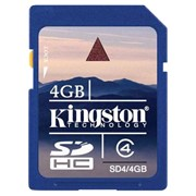 Kingston Secure Digital Card Class 4 4GB
