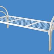 Кровать металлическая усиленная фото