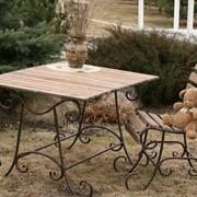 Столы садовые фото