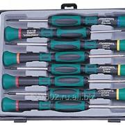 Набор отверток для точной механики, 50 мм, Torx, Т4-Т7 и крест PH#00, 8 предметов, код товара: 48334, артикул: D3750T18S