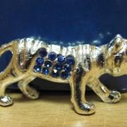 Телец золотой -фигурка со стразами -Знаки зодиака, арт. 3912 фото