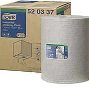 Полотенца протирочные Tork Premium W1/2/3, 1-слойные нетканый материал для удаления масла и жира, 390л 520337 фото