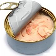 Тунец в масле консервы фото