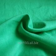 Лен натуральный, цвет зеленый, производство Китай. WM 12185-3