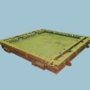 Металлоформа для производства плит забора фото