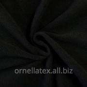 Флис антипиллинг S16365 черный фото