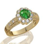 Кольца с бриллиантами D27029-1 фото
