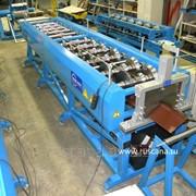 Линия по производству конька плоского / Ridge cap machine фото