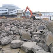 Прием строительных бетонных и железобетонных отходов, кирпичного боя фото