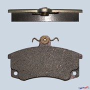 Колодка дискового тормоза 2110-3501080 фото