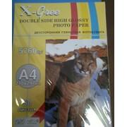 Фотобумага X-Green двусторонняя глянцевая А4 115гр, 50 листов фото