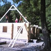 Строительство домов под ключ, коттеджей фото