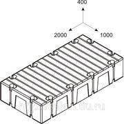 Понтоны пластиковые 2FLOAT (2х1х0,4м)