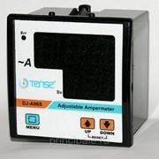Амперметр с релейным выходом мин/макс значений тока напряжения цифровой щитовой панельный 96х96 мм фото