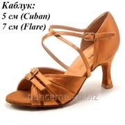 Dance Me Обувь женская для латины 37310, загар сатин фото