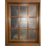 Окна и рамы оконные деревянные фото