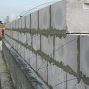 Кладка из пеноблоков,пенобетоных,газосиликатных блоков фото