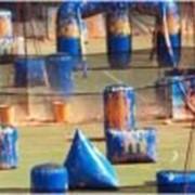Комплект укрытий Supairball 2010 Classic Series 5Man Field, комплект 20 фигур фото