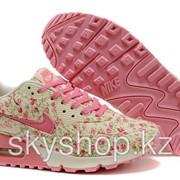 Кроссовки Nike Air Max 90 Floral Print Womens 36-40 Код Max1 фото
