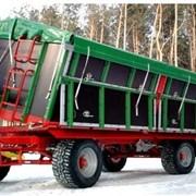 Специализированный прицеп для перевозки картофеля Pronar T-680 Special (14 тонн) фото