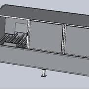 Горизонтальный модуль плавления битума, Контейнеры. фото
