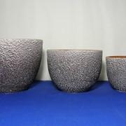 Комплект горшков из керамики фото