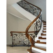 Проектирование, изготовление и монтаж лестниц фото