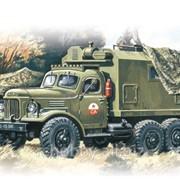 Модель ICM 1/72 Зил-157, подвижный командный пункт