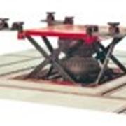 Автомобильный подъёмник пневматический с помпой, заглублённая модель (поставляется с ограничительной рамой) STL 2602 фото