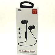 Беспроводные наушники Wireless 4.2 M6 Black фото