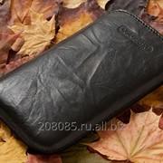 Чехол Samsung S5570 Galaxy mini Armani Black фото