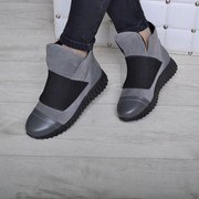 Женские ботинки на молнии, в расцветках. ВВ-41-0218 фото