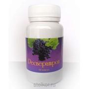 Натуральный антиоксидант Ресвератрол, 60 капс. по 0.5 гр фото