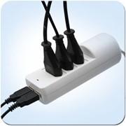Bonus SVEN сетевой фильтр, 1,5м., 500 Вт, Europlug СЕЕ 7/16 (3 шт.) + USB питание 2 шт.), Белый фото